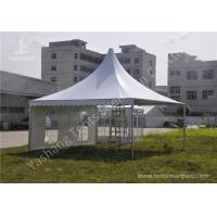 Buy cheap Extruded Aluminum Alloy Frame Outdoor High Peak Pole Tent Soft PVC Windows product