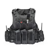 Buy cheap Outdoor Army Military Bulletproof Vest Tactical Vest Outdoor Vest for Field Play product