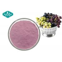 Buy cheap 100% Pure Natural Fruit And Vegetable Powder , Soluble Purple Grape Juice Powder product