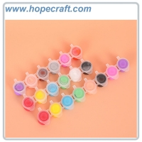 China 2ml, 3ml, 5ml 7ml 6 colors 8 colors set 12 colors set Acrylic Paint for Kids DIY Painting on Paper, Cloth, Wood, Stone on sale