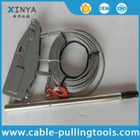 Buy cheap Manual Cable Pulling Tools Hand Wire Rope Winch Wire Rope Tirfor 3.2 Ton product