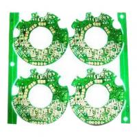 Buy cheap 4 layer PCB with Immersion Gold, Green Solder Mask Color, Suitable for Printers product