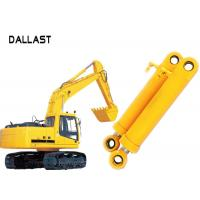 Buy cheap Heavy Duty High Pressure Hydraulic Cylinder Dual Stage For Industrial Crane Excavator product
