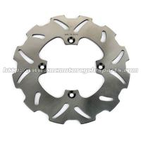 China 190mm Silver Motorcycle Brake Disc Front Solid Brake Rotors Honda CRF150R For Street Bike on sale