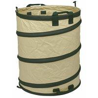 Pop up gardenbag/pe bag/leaf barrel/trash bin