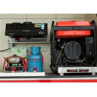 Buy cheap Reasonable Layout Fire Brigade Vehicle With Rust Corrosion Spraying Processing Body Protection product