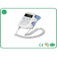 Buy cheap Baby Sound Handheld Fetal Doppler , Baby Heart Doppler For Routine Examination product