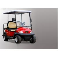 Buy cheap Club Four Seater Golf Cart , Battery Powered Golf Cart With Aluminum Alloy Beam product