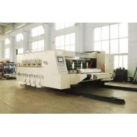 Buy cheap Alloy Steel Automatic Corrugated Box Making Machine , Steady Printing product
