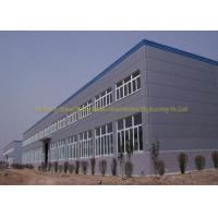 China Multi Storey Steel Structure Workshop Buildings Sandwich Panel Materials on sale