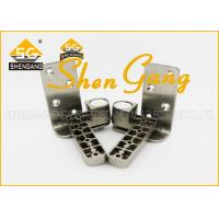 Buy cheap 90 Degree Stainless Steel Pivot Door Hinges / Heavy Duty Offset Hinges , 131*25mm(L*W) product
