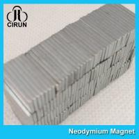 China Strong Neodymium Permanent Magnets , N45-N50 Neodymium Block Magnets on sale