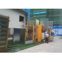Buy cheap Electric Power Building VFD Motor Control 400m Construction Site Elevator from wholesalers