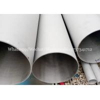 Buy cheap ASTM A312 A106 standard ERW steel welded stainless TP304 pipes for Chemistry industry product