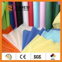 Buy cheap Colorful Waterproof Spun Bonded Raw Material For Non Woven Fabric , 10gsm-320gsm product