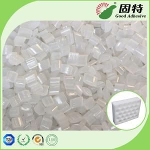 Buy cheap Yellowish Granule Hot Melt Pellets For  EPE Foam Sheet Bonding Packing Carton.Hot Melt Glue Adhesive For  Sheet Bonding product