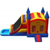 Buy cheap Funny Inflatable Bouncer Combo WIith Water Slide  , Toddler Blow Up Fun House product