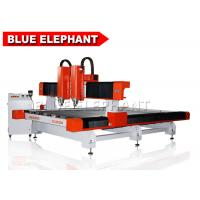 China Double separate heads 2030 stone cutting machine , cnc stone carving machine / cnc stone router on sale