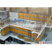 Buy cheap High Efficiency Wall Formwork Systems , Core Wall Formwork With Push Pull Props product