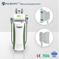 Buy cheap 5 handpieces cryolipolysis vacuum fat cell freezing body slimming machine product