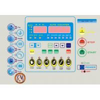 Buy cheap High Performance LED Membrane Switch Panel Sticker / Membrane Key Switches from Wholesalers