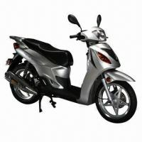 China 125cc Gas Scooter/Motorcycle, 75kph Maximum Speed, EEC and EPA Approved on sale