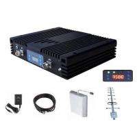 Buy cheap WCDMA Mobile Signal Repeater 10~20dBm power 60-70dB Gain 1000 Coverage with Accessories product