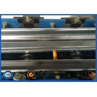 Buy cheap PLC Control Steel Metal Door Frame Roll Forming Machine 5.5KW 8 - 12 m / min product