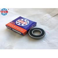 6205 2RS Greased Precision Ball Bearing , High Speed Deep Groove Ball Bearing