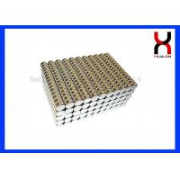 China N35 Permanent Cylinder Shaped Magnet Sintered Magnetic Neodymium Motor Magnet on sale
