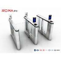 Buy cheap Pedestrian Management Automated Gate Systems SUS304 Materials Speed Gate Turntiles Face Recogntion product