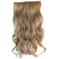 Buy cheap Hair Falls Clip in Human Hair Extension for Female Curly Wigs product