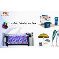 Buy cheap 2.2m Large Format Size Fabric Plotter / Textile Fabric Cloth Printing Machine product