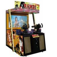 Buy cheap Adult Simulator Shooting Arcade Games Machines , New Rambo Stand Up Arcade Machine product