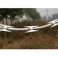 Buy cheap Military Galvanized Low Price Concertina Single Loop Razor Barbed Wire product