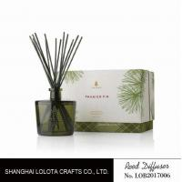 Buy cheap Blackish green color bottle with natural stick and rigid gift box product