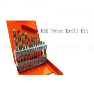 China 19pcs High Speed Steel Twist Drill Bit Set on sale