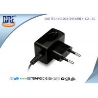 Buy cheap CE / GS EU plug 12W AC DC Switching Power Supply 100% Aging Test product