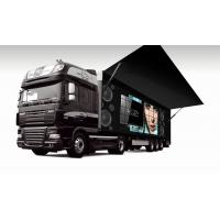 Buy cheap Outdoor Truck Mounted LED Displays Screen with Checker Plate product