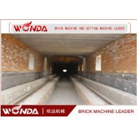 Buy cheap Red Clay Brick Tunnel Kiln , Automation Tunnel Kiln For Brick Firing Process product
