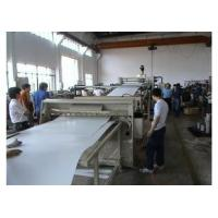 Buy cheap PP / PE Plastic Sheet Extrusion Machine , Bathroom / Refrigerator Sheet Machinery product