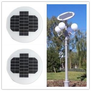 China 12 Volt 150W Circle Solar PanelAluminum Alloy Frame For Outside Led Lamps on sale