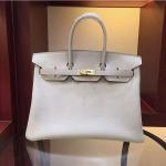 Buy cheap high quality 35cm  light grey TOGO leather  handbags high class brand handbags L-RB2-5 product