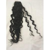 Buy cheap 10a grade water wave unprocessed virgin indian human hair weft product