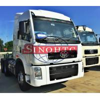 Buy cheap 60 Ton FAW Tractor Head Trucks 6X4 Driving Type J5P High Cabin ISO9001 Standard product