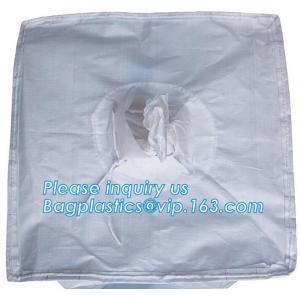 PP woven bulk big ton bag / jumbo bag for packing stone, fish meal,sugar,cement,sand,1 ton Custom PP Woven Big Bulk Jumb
