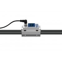 Buy cheap Aluminum Alloy Case DN50 Clamp On Flow Meter product