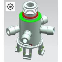 Buy cheap Super Complicated GS738H Plastic Mold Components For PP+10%GF T - Branch Pipe product