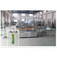 Buy cheap Super Juice Drink / Tea Filling Equipment Industrial Bottle Washing Machine product