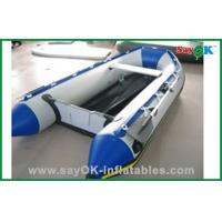 Buy cheap Heat Sealed Blue PVC Inflatable Boats Water Fun Blow Up Boat 2 Person product